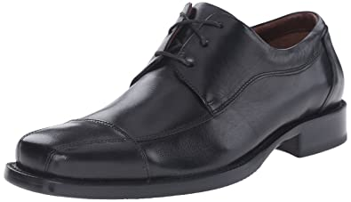 Johnston & Murphy Men's Dobson Cap Oxford,Black ...