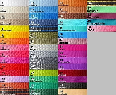 30 mm 40 mm Correa de las correas de polipropileno//cinta 20 mm 50 Mm Elección De Colores