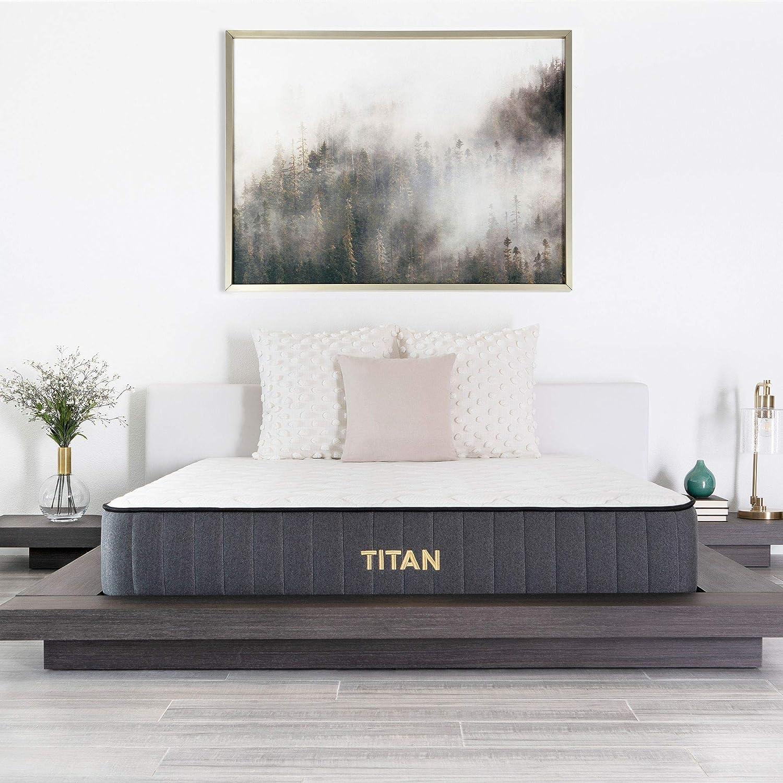 Brooklyn Bedding Titan 11-Inch TitanFlex Hybrid Mattress