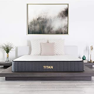 product image for Brooklyn Bedding Titan 11-Inch TitanFlex Hybrid Mattress with TitanCaliber Coils, Twin XL