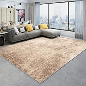 WSJTT Rugs, Pads & Protectors Area Rugs Soft Hand Carved Contemporary Floor Carpet with Premium Fluffy Texture for Indoor Living Dining Room and Bedroom Area (Size : 1.8×2.8M)