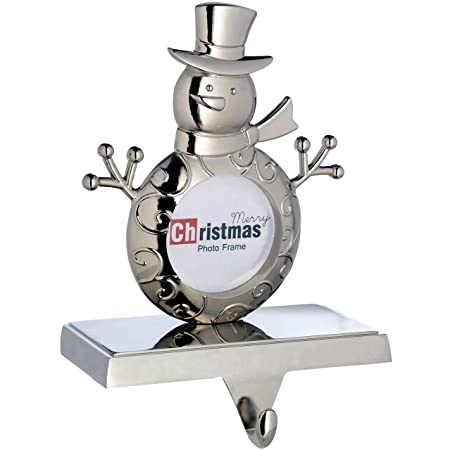 Werchristmas Plated Snowman Photostocking Holder Christmas