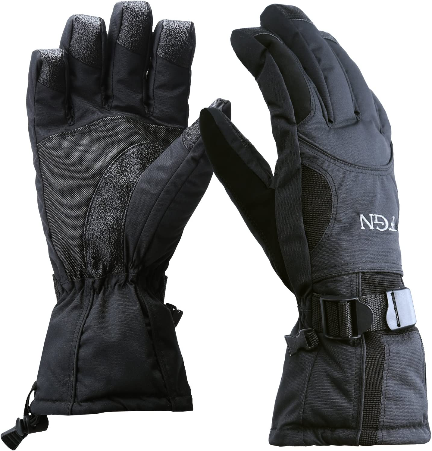 Waterproof Winter Gloves Warm 3M Thinsulate Ski Mittens for Cold Weather Snowboard Snowmobile -30℃ EXski 22℉