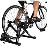 Bike Trainer Stationary Magnetic Exercise Bicycle Stand for Indoor Riding Portable with Noise Reduction Technology