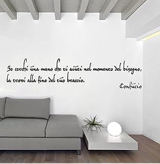LifeUp Disegn Originale- Adesivo Murale Frase Spagnolo Soggiorno ...