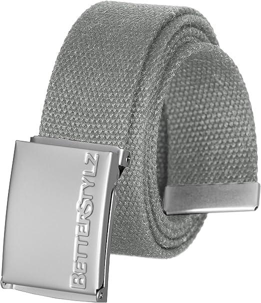 Gürtel Stoffgürtel Textilgürtel Unisex verschiedene Farben  4,5 cm breit