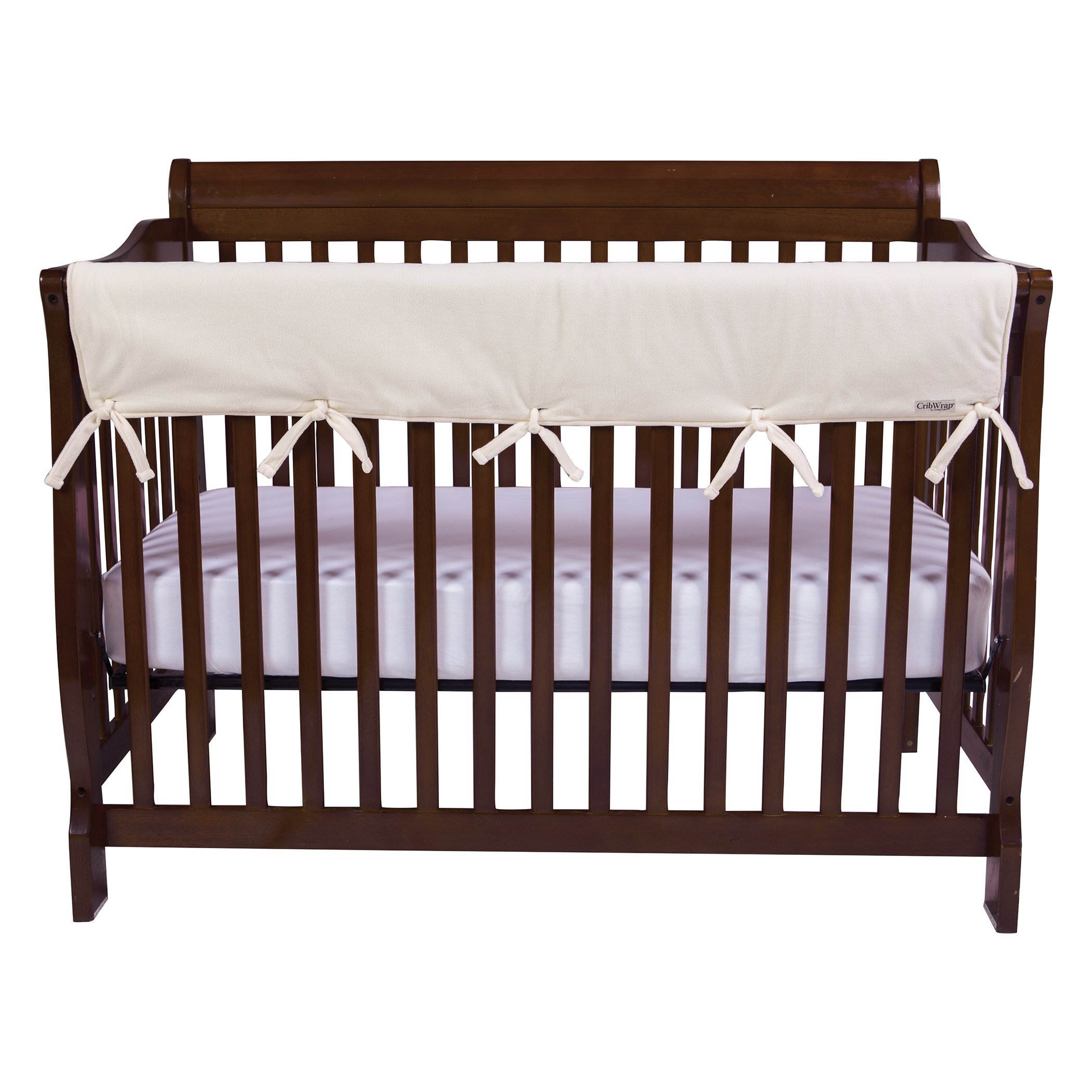 Trend Lab Waterproof CribWrap Rail Cover - for Wide Long Crib Rails Made to Fit Rails up to 18'' Around by Trend Lab