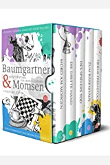 Learning German through Storytelling: Baumgartner & Momsen  Detective Stories for German Learners, Collector's Edition 1-5 (German Edition) Kindle Edition