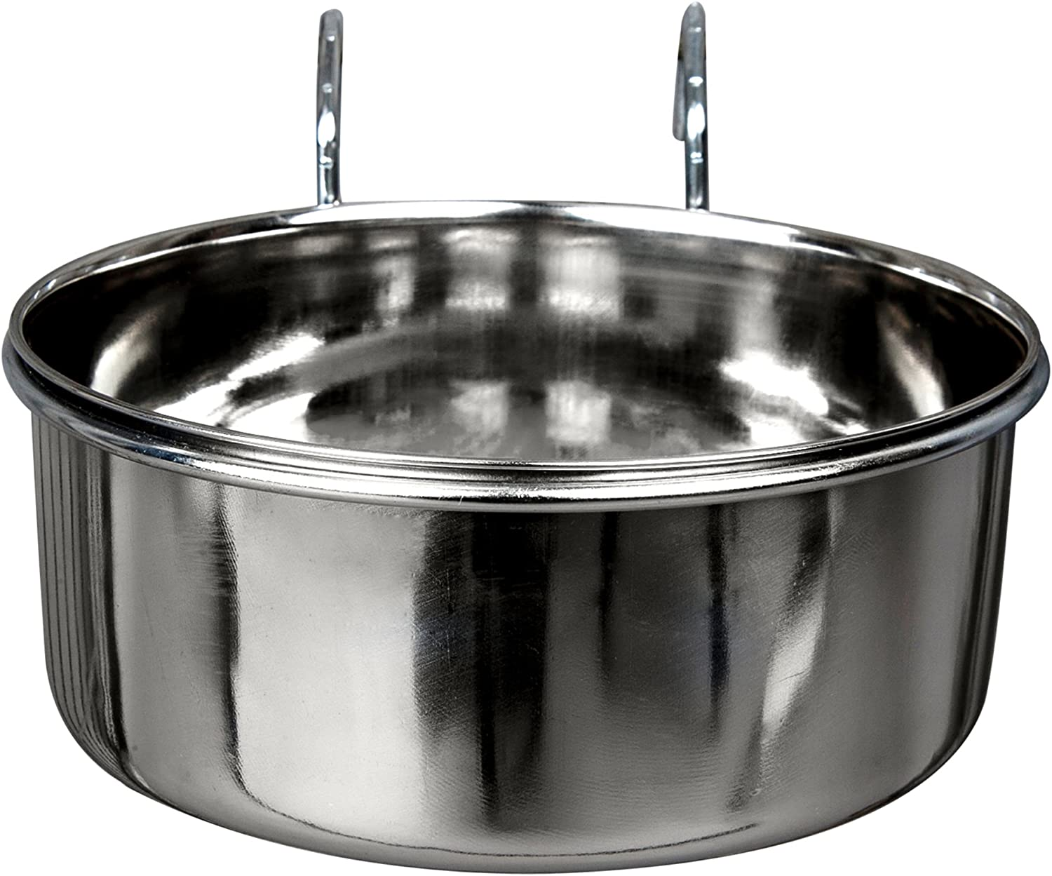 Advance Pet Products Stainless Steel Coop Cups with Hook, 20-Ounce