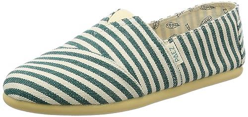 Paez Original-SURFY, Alpargatas para Mujer, (Green 400), 37 EU: Amazon.es: Zapatos y complementos