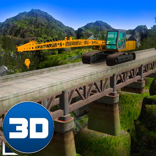 Bridge Constructor: Crane Simulator 3D