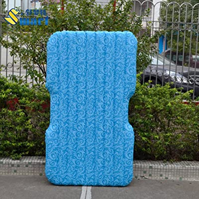 FACAI888 Banquette arrière de la voiture gonflable de tapis voiture automobile air matelas divisé lit de voiture voyage lit gonflable air