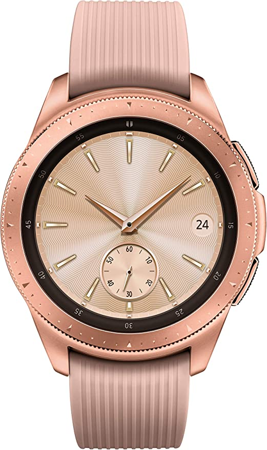 Samsung Galaxy Smartwatch (42mm) Rose Gold (Bluetooth), SM-R810NZDAXAR – US Version with Warranty