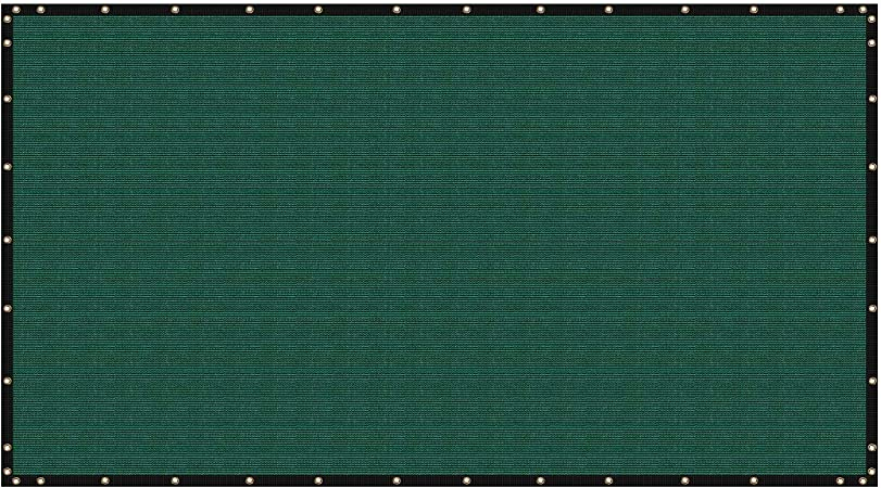 ColourTree 8 x 25 Green Fence Privacy Screen Windscreen We Make Custom Size Commercial Grade 170 GSM Heavy Duty