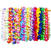 Majome 36 Unids/Set Tropical Hawaiian Flower Garland Party
