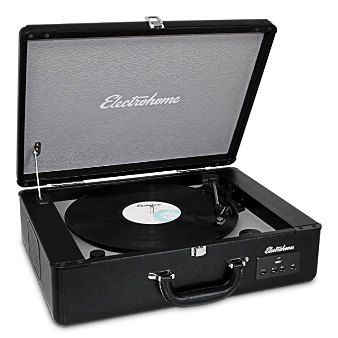 Amazon.com: Electrohome Vinyl Record Player Classic ...