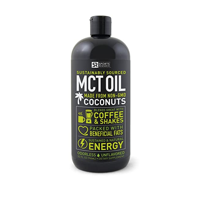 Premium MCT Oil derived only from Coconut Oil ...
