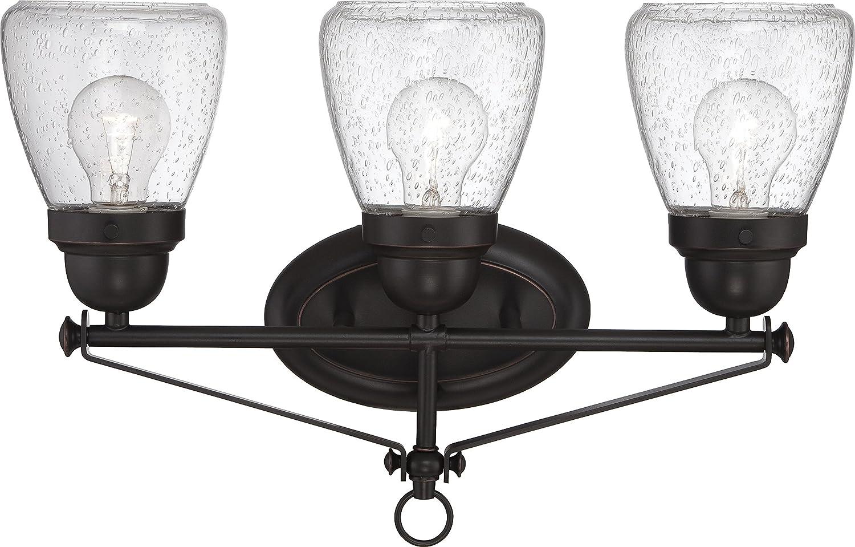 Nuvo Lighting 60 5543 Three Light Fixture Vanity, Bronze Dark
