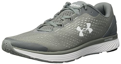9d6e76047f5 Under Armour Men s Charged Bandit 4 Team Running Shoe (100) Steel ...