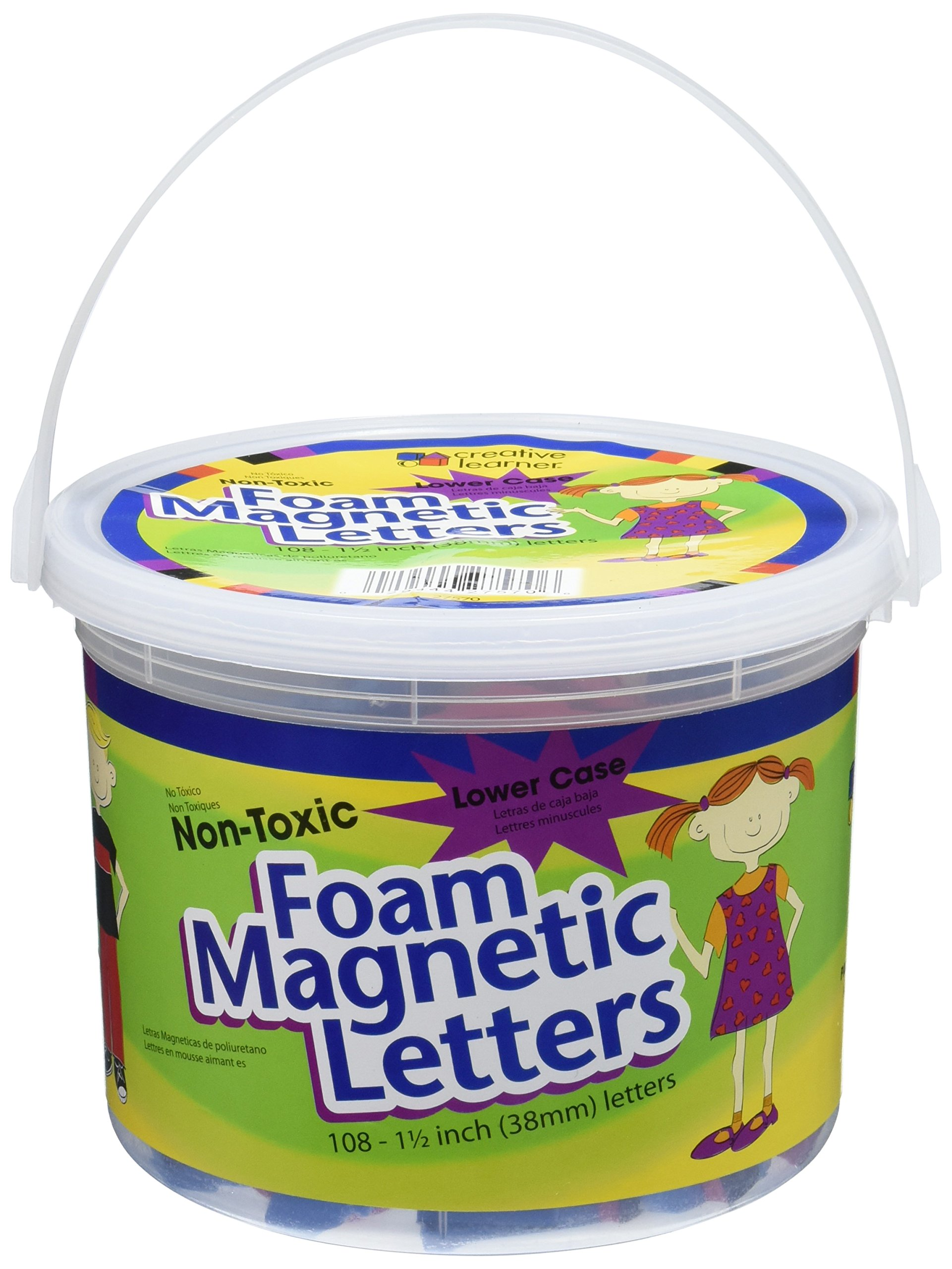 Pacon Magnetic Alphabet Foam Letters (PAC27570)