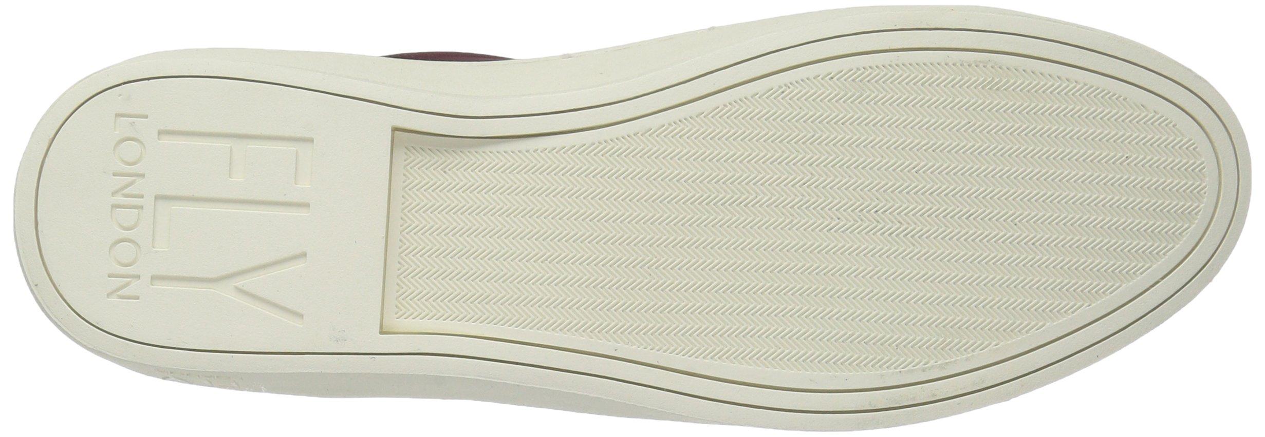 FLY London Women's MACO833FLY Sneaker, Bordeaux/Black Nubuck/Patent, 37 M EU (6.5-7 US) by FLY London (Image #3)