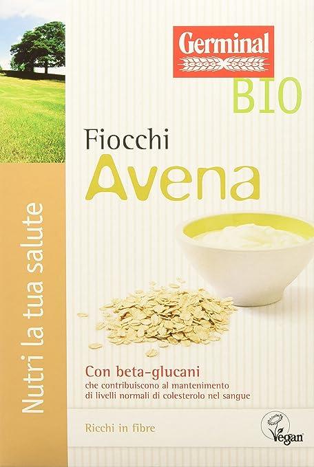 2 opinioni per Germinal Bio Fiocchi Avena- 8 confezioni da 300 gr- 2400 gr