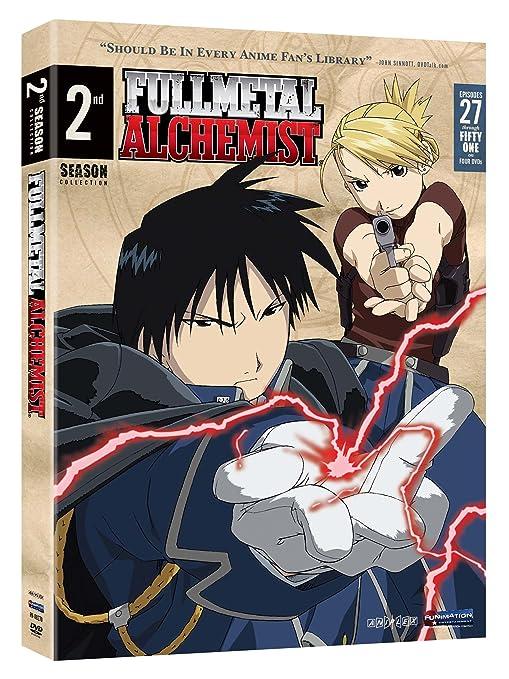 Fullmetal Alchemist: Season 2 - Vc Reino Unido DVD: Amazon.es: Cine y Series TV