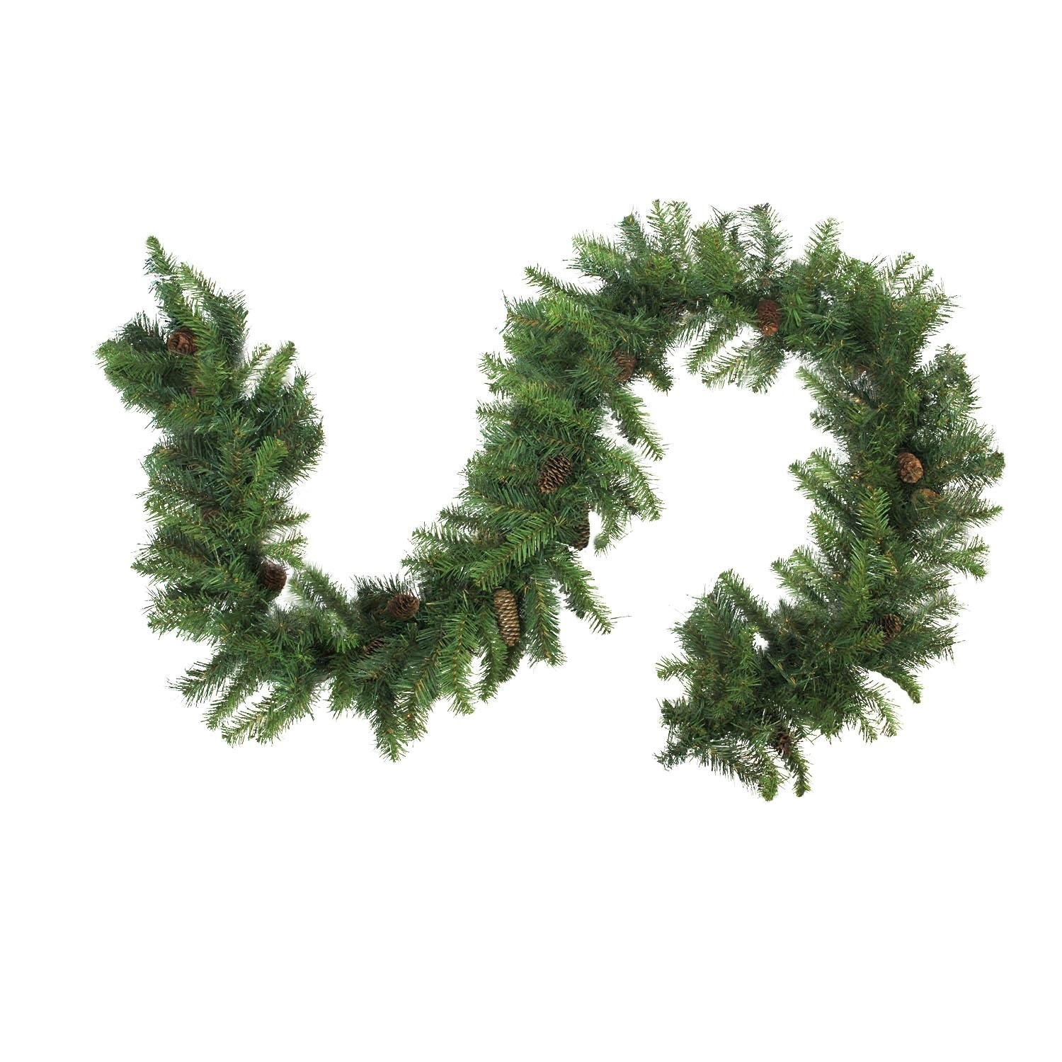 Northlight 50' x 12'' Dakota Red Pine Commercial Artificial Christmas Garland - Unlit