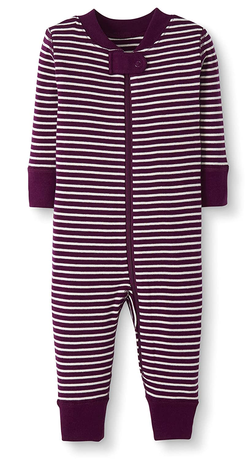 Moon and Back by Hanna Andersson Baby//Toddler One-Piece Organic Cotton Footless Pajamas