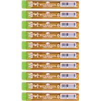 Pilot 2B Progrex Begreen 0.5 mm Mechanical Pencil Leads, Black (PPL-5-2B-BG 2B) - Pack of 10