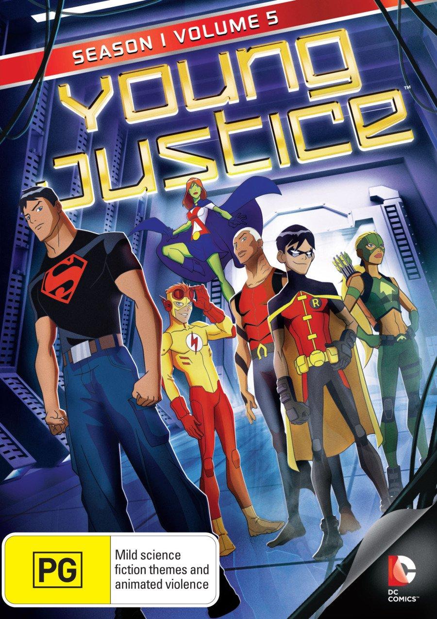 Amazon com: Young Justice Season 1 Volume 5 | NON-USA Format