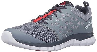 Reebok Men's Sublite XT Cushion 2.0 MT Running Shoe, Asteroid Dust/Smokey  Black/