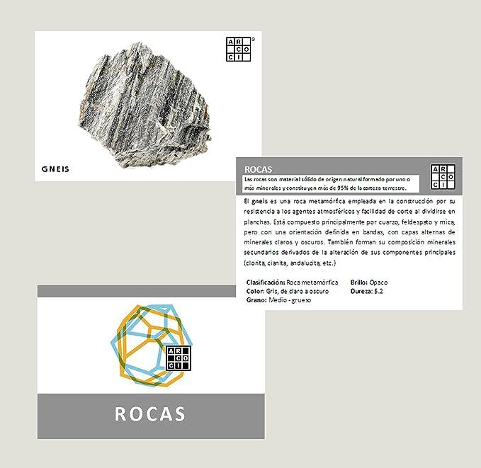 Colección de 12 minerales - Rocas: Amazon.es: Juguetes y juegos