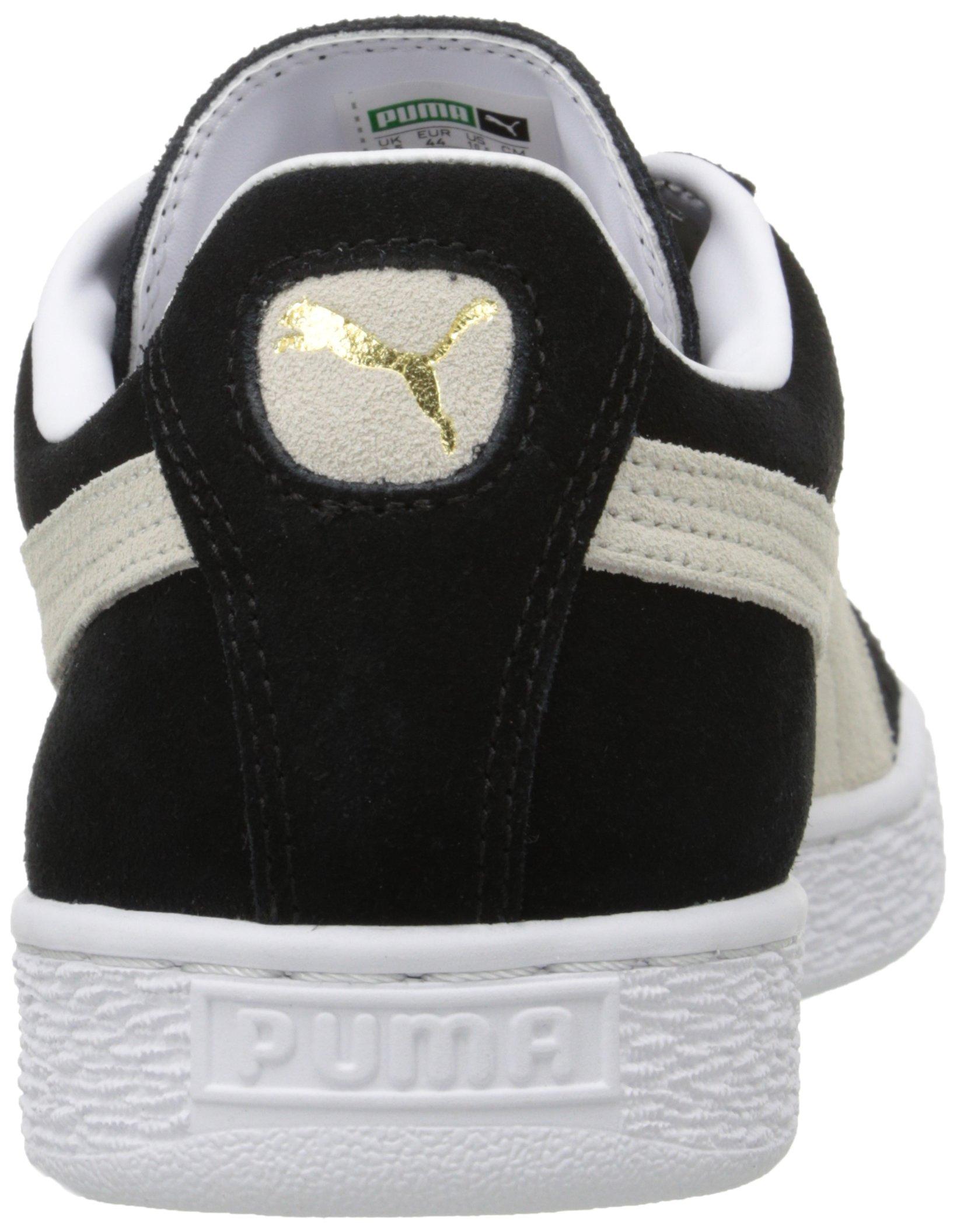 PUMA Suede Classic Sneaker,Black/White,9.5 M US Men's by PUMA (Image #9)