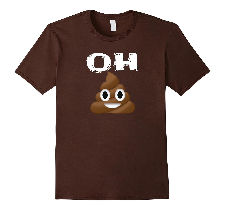 Emoji Shirt Idioms Poop Medium-Awarplus