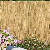 Arella canniccio stuoia cannette rilegate ombra recinzione esterno 200x500cm