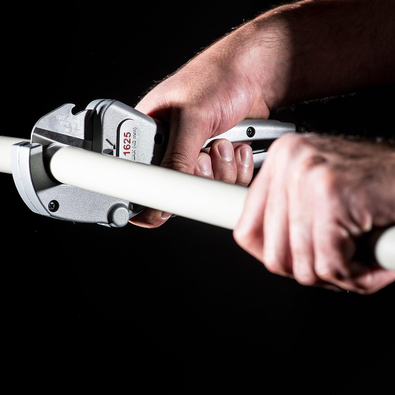 RIDGID 23498 Modelo RC-1625 Cortador de tubos y tuberías plásticas de trinquete, Cortador de tubos de 3 mm a 41 mm: Amazon.es: Industria, empresas y ciencia