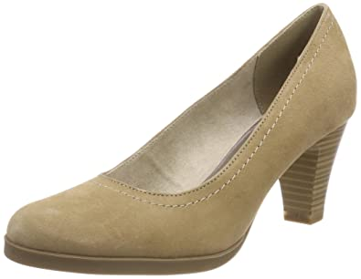 Tamaris Damen 22410 Pumps, Grau, 41 EU