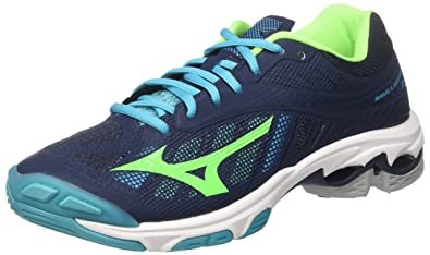 huge discount 77464 f9b4d Mizuno Wave Lightning Z4, Chaussures de Running Homme, Multicolore  (Dressblues greengecko