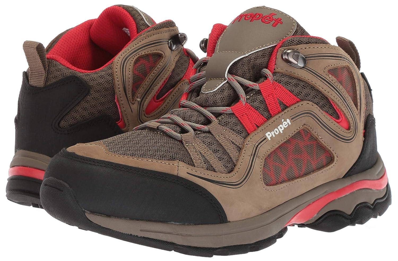 Propet Womens Peak Hiking Boot 10H 2E US Gunsmoke//red