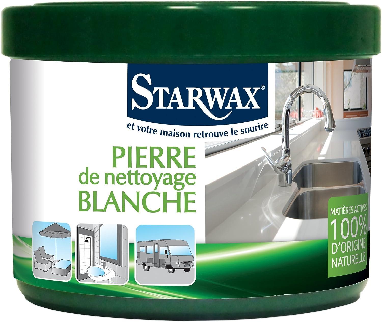 Starwax 30600 piedra de limpieza Blanca 100% de origen natural: Amazon.es: Salud y cuidado personal