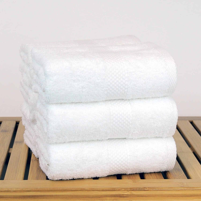White Honeycomb Bare Cotton 893-601-06-01 Wash Cloths - Set of 6, White Luxury Hotel /& Spa Towel Turkish Cotton Bath Towels