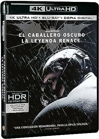El Caballero Oscuro: La Leyenda Renace 4k Uhd Blu-ray: Amazon.es: Christian Bale, Tom Hardy, Anne Hathaway, Gary Oldman, Michael Caine, Morgan Freeman, Joseph Gordon-Levitt, Marion Cotillard, Christopher Nolan, Christian Bale, Tom Hardy: