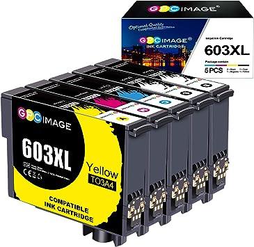 Gpc Image 603xl Druckerpatronen Ersatz Für Epson 603 603 Xl Druckerpatronen Für Epson Expression Home Xp 3100 Xp 4100 Xp 2100 Xp 2105 Xp 3105 Xp 4105 Workforce Wf 2830 Wf 2810 Wf 2835 Wf 2850 5 Pack Bürobedarf Schreibwaren