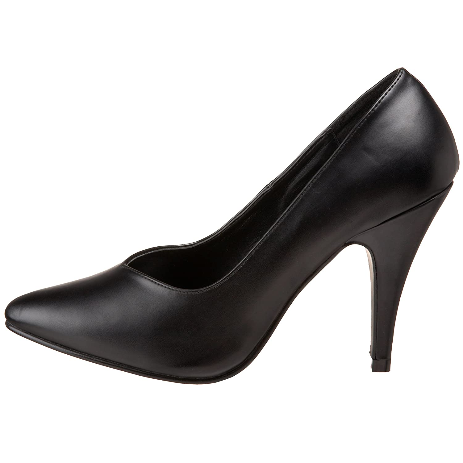 Pleaser DREAM-420 Damen Schwarz Pumps Schwarz Damen (Blk Faux Leder) 742c67