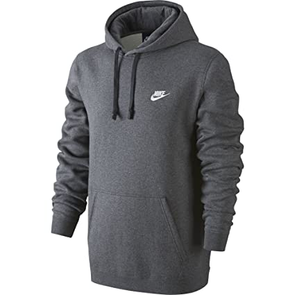 8e23567f2c ... coupon code for nike sportswear mens pullover club hoodie charcoal  heather charcoal heather white x 7a37f