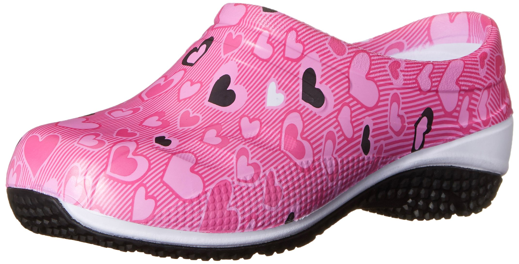 Anywear Exact Work Shoe, All About Love Print, 5 M US
