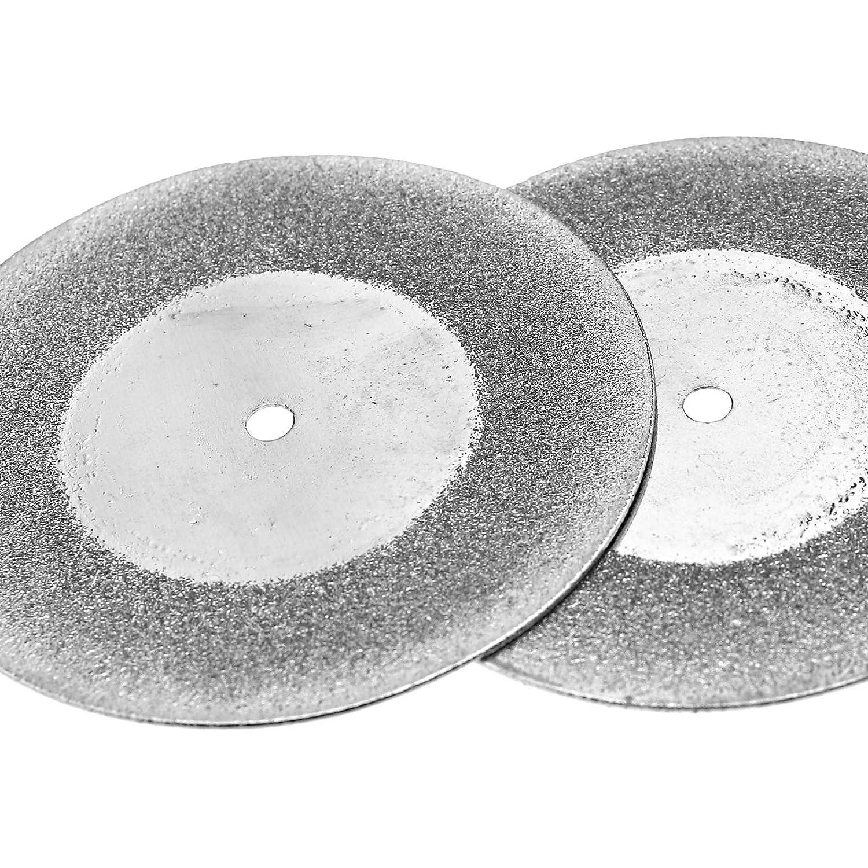 SING F LTD 5X Diamond Cutting Wheel Discs Drill Bit for Rotary Tool Glass Metal 50mm