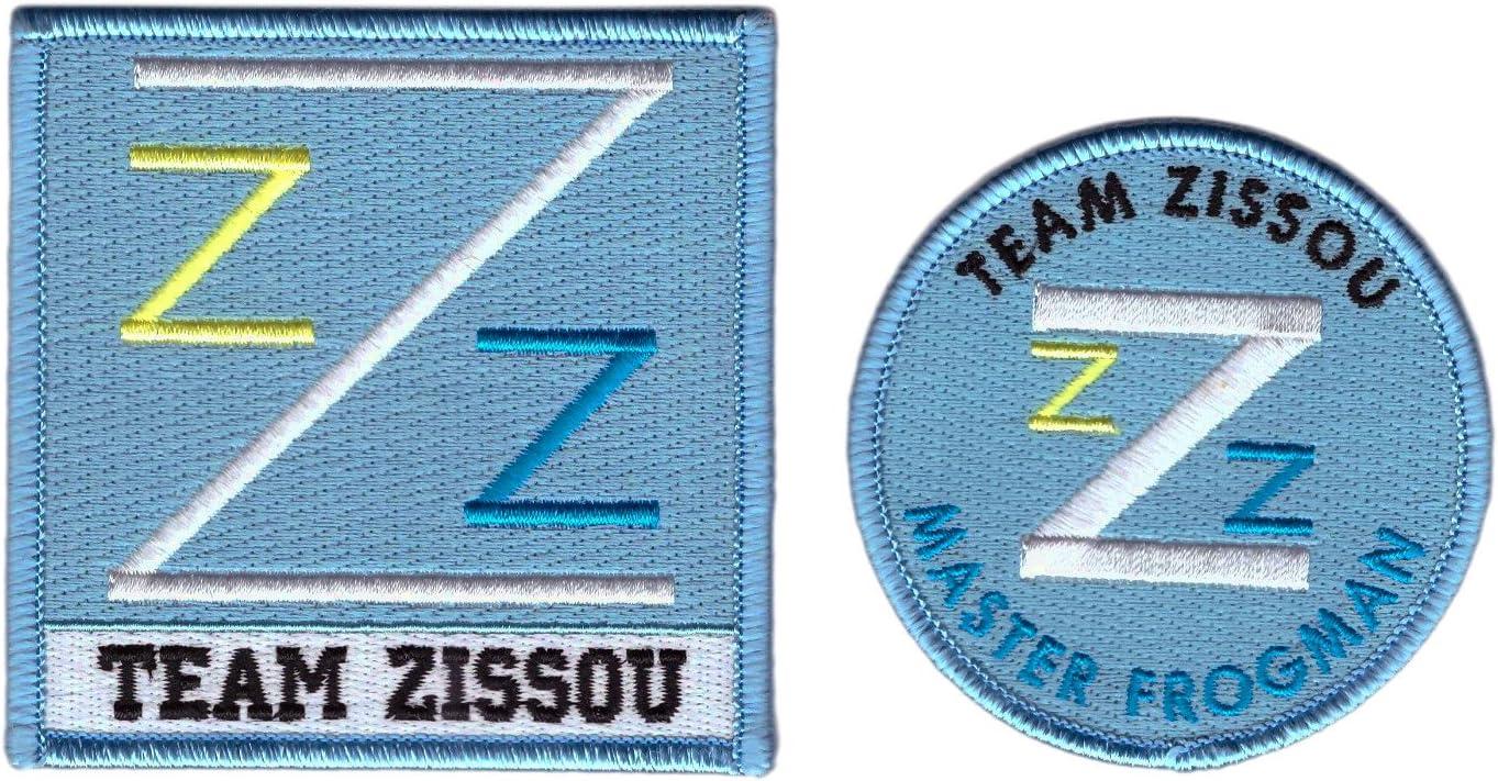 Titan One Europe Set Of 2 Master Frogman Team Zissou Cosplay Costume Patch Set Aufnäher Aufbügler Auto
