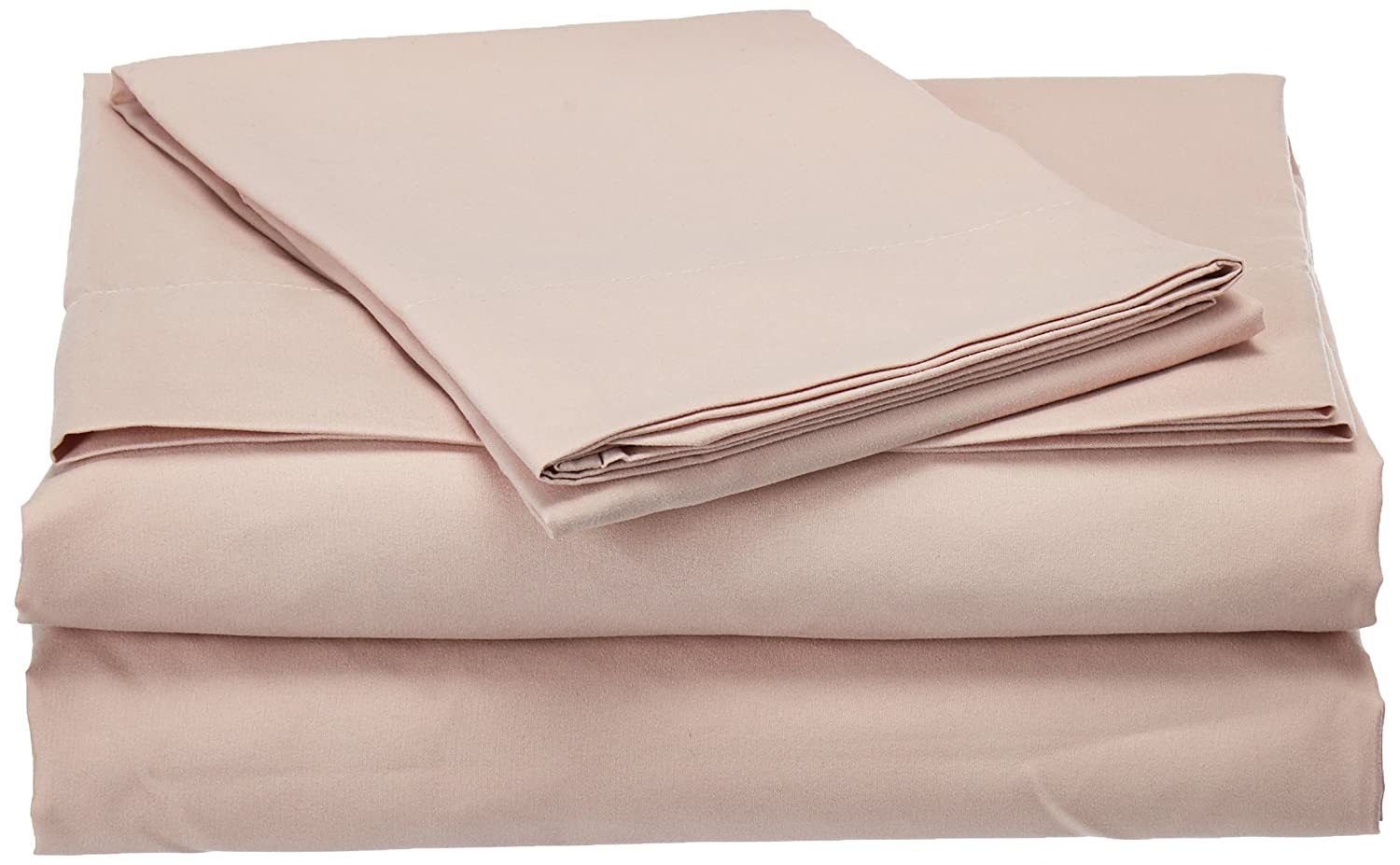 Rose Smoke King Natural Comfort Easy Care 4-Piece Microfiber Sheet Set